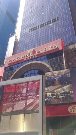 Crowne Plaza Times Square Manhattan: 外観