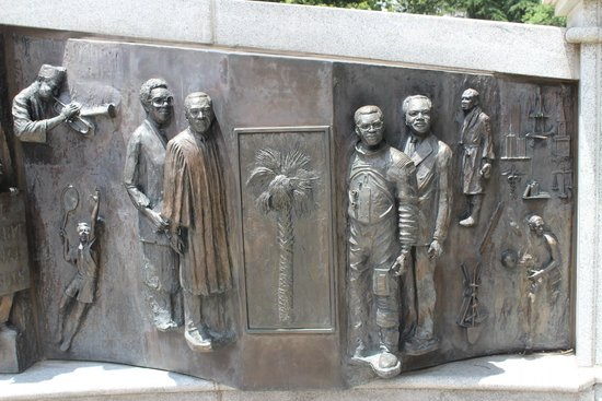 African American History Monument, South Carolina State House, June 2014