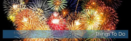 Shoreline Oceanfront Rooms and Suites: Fireworks Every Saturday!