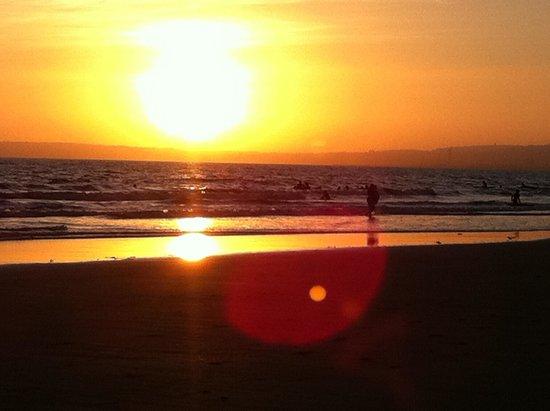 Aberafan Beach: Beautiful long sandy beach