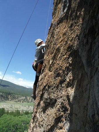 Rocky Mountain Outdoor Center: Climb like a girl!