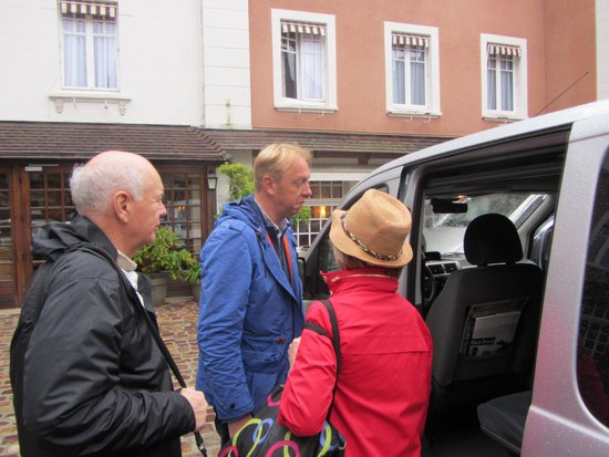 Normandy D Day Tours: KATHY/LES AND GUILLAUME
