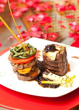 Granados Park Hotel: Restaurant Il Mondo y sus exquisiteces