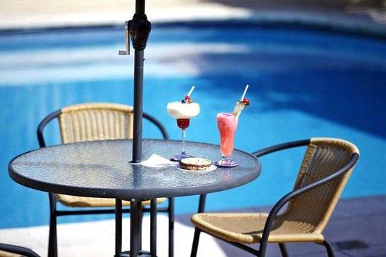 Granados Park Hotel: Terraza