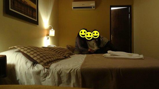 Hotel Rivera: Dormitorio para 3