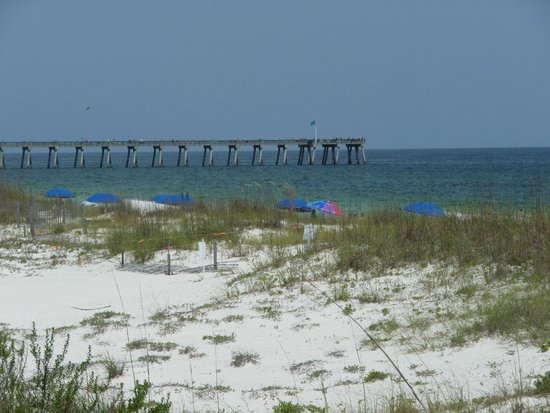 Holiday Inn Express Pensacola Beach: View from the pool area