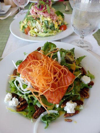 Mariposa: Applewood King Salmon Salad