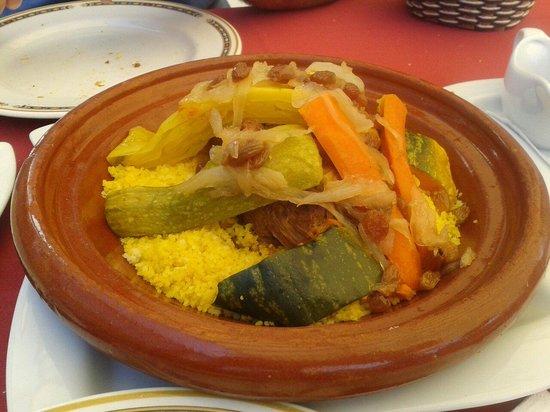 555 Wine & Tapas Restaurant : Cuscus de cordero