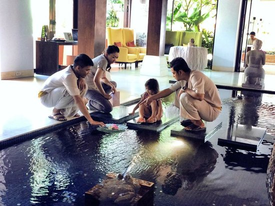 Renaissance Koh Samui Resort & Spa: The staff was wonderful and kept our daughter entertained!
