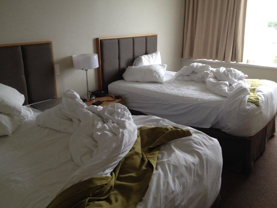 Coast Chilliwack Hotel: We'll slept in beds!