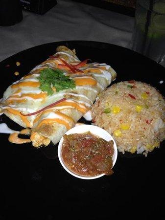 Two Chefs - Karon Beach: Chicken burrito - M3