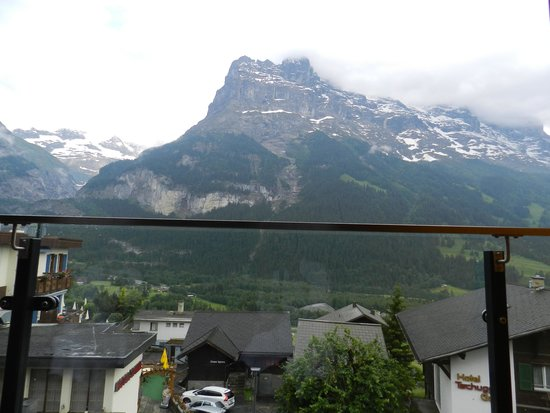 Hotel Eiger Grindelwald: view from our balcony