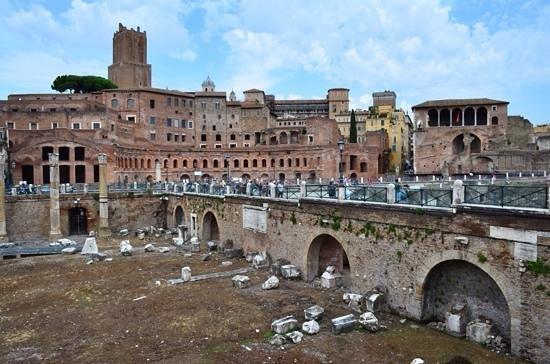 Foro di Augusto: Augustus forum.