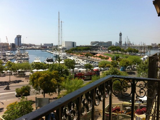 H10 Port Vell : View from Room 412
