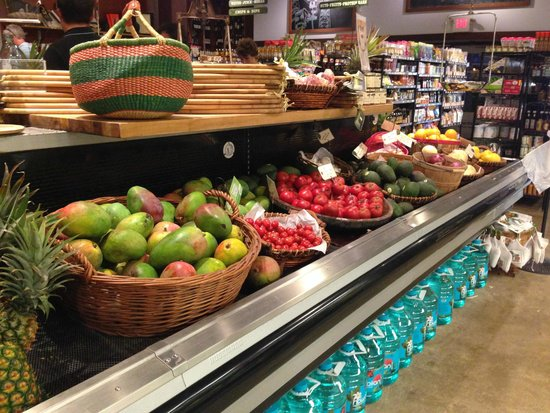 Living Foods Gourmet Market and Cafe: more fresh fruit