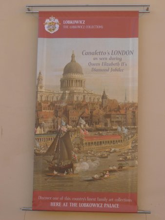 Palais de Lobkowicz : Canaletto Advert
