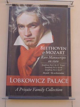Palais de Lobkowicz : Beethovan Advert