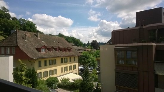 Hotel Krone Lenzburg: View from the room