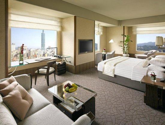 Shangri-La's Far Eastern Plaza Hotel Taipei : 每間客房都有城市景觀
