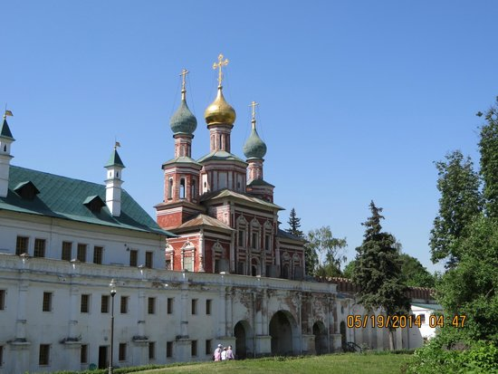 Novodevichy (New Maiden) Convent and Cemetery: Cathedral domes