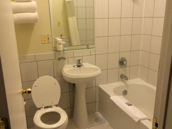 Travelodge Hotel Downtown Chicago : Bathroom
