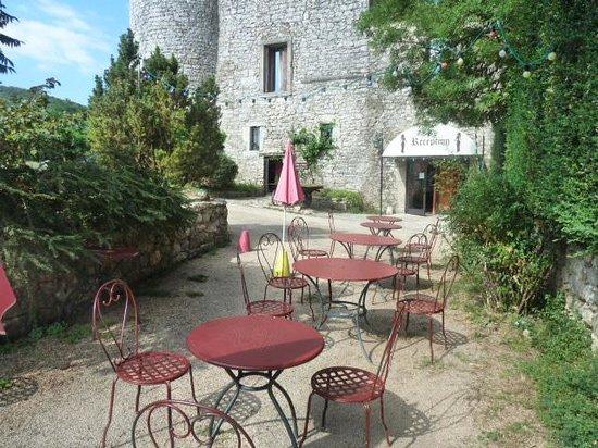 Domaine de Blancardy - Auberge : entrée domaine reception