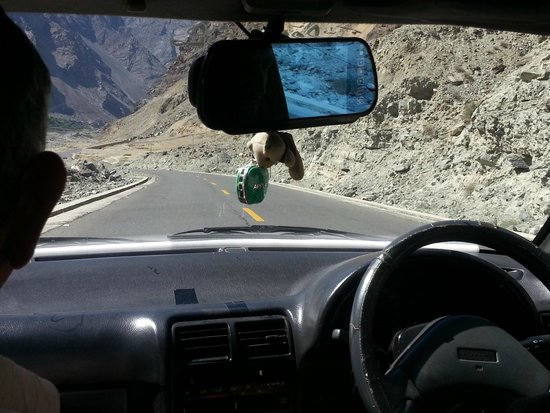 Gilgit-Baltistan, Pakistan: on the way to hunza from gilgit