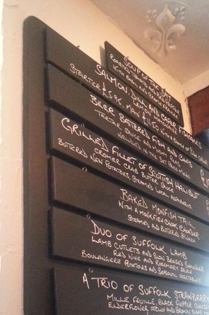 The Fountain: The Specials Board