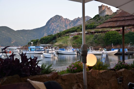 La cabane du berger: vue du restaurant