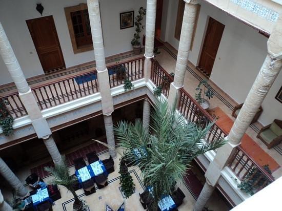 Palais des Remparts: vu de la terrasse