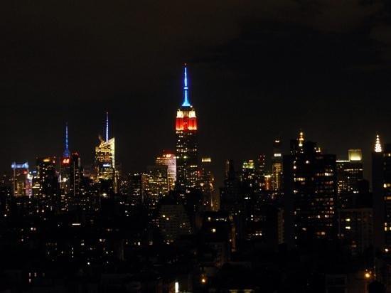 Sheraton Tribeca New York Hotel: View from my room...Go USA!