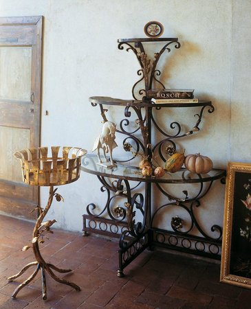 Bi Home Decor Effebiweb Production Of Wrought Iron Furnishings