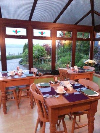 Homeleigh Bed & Breakfast: Dining room