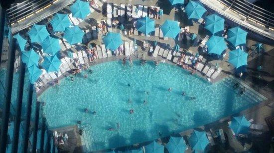 Vdara Hotel & Spa: Vista desde el piso 46