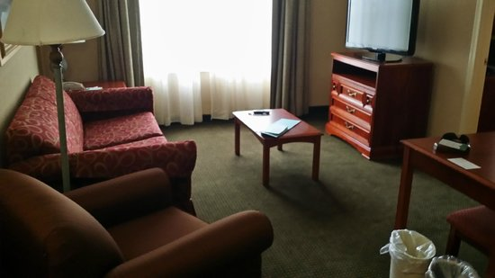 Homewood Suites Tallahassee: Living room