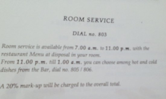 Hotel Manin : Room service? No- unfortunately rude staff outweigh the good staff members
