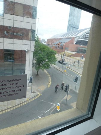 Premier Inn Manchester Central Hotel: view