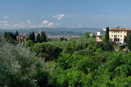 Relais Villa Jacopone Suites: Vue depuis la piscine...