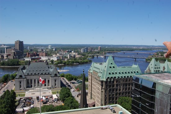 Ottawa Marriott Hotel: View from up here