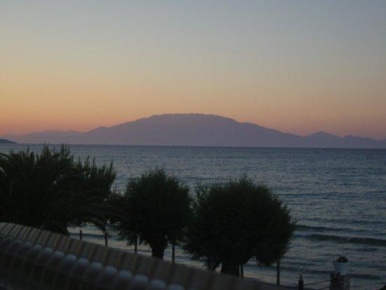 Beach House I & II: sunset