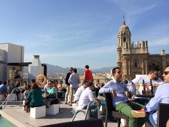 Hotel Molina Lario: Rooftop Area