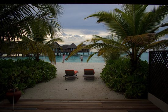 Club Med Kani : ビーチヴィラからの眺め
