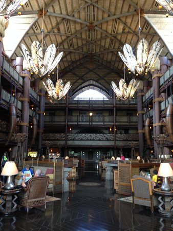 Disney's Animal Kingdom Lodge: Lobby