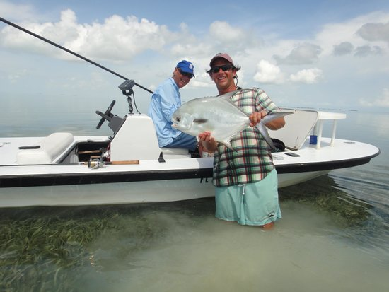 AWS Charters, Key West Flats Fishing : Permit