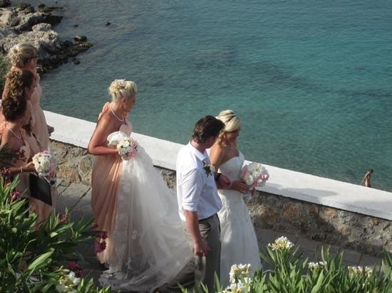 Agios Pavlos Beach (Saint Paul) : weddings!
