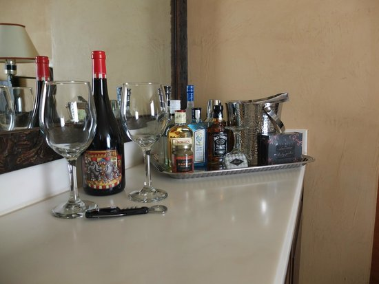 Petit Ermitage: mini bar