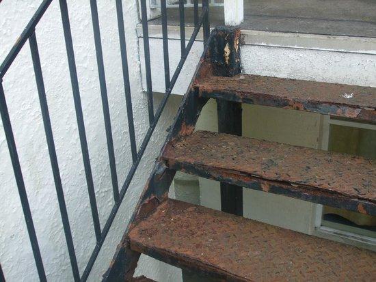 Butlins Bognor Regis Resort: Stairs of doom
