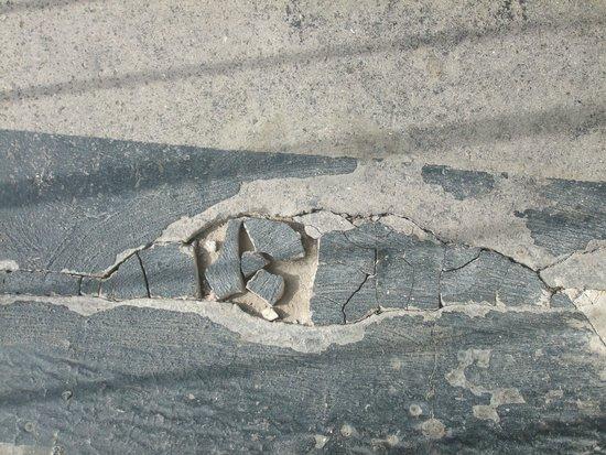 Butlin's Bognor Regis Resort: Cracked concrete - like this all along landing