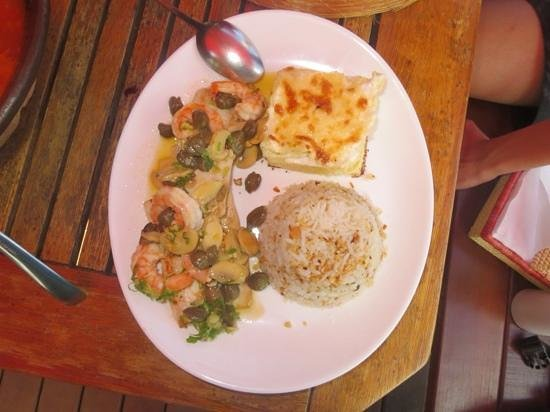 Xica da Silva: prato delicioso ! nao lembro o nome.