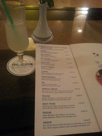 Medina Solaria & Thalasso : cocktails